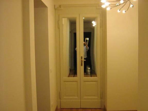 Come Ripristinare Una Porta In Legno.Restauro Porte Arredamenti Su Misura A Milano